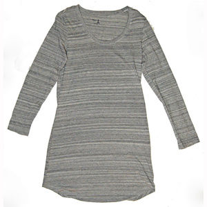 Gap Body Gray Space Dye Nightgown Night Shirt